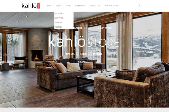 Kahlo Store – eCommerce WP Theme