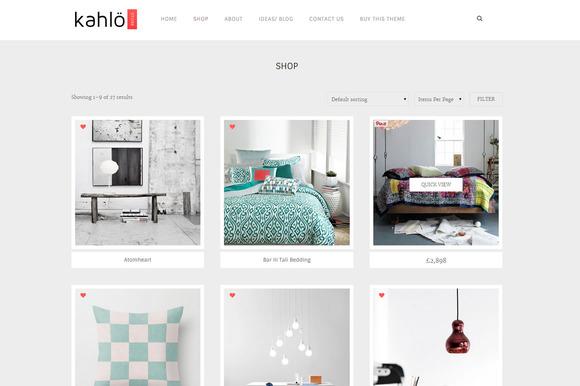 Kahlo Store - eCommerce WP Theme