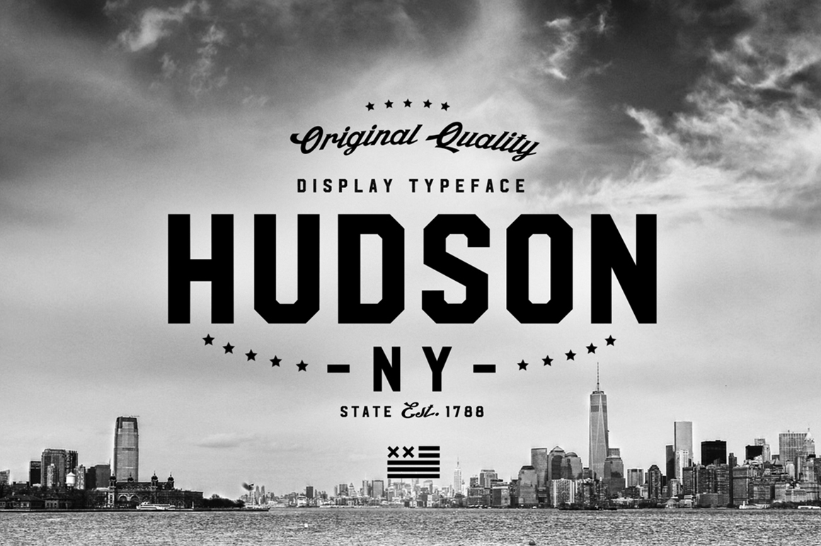 Hudson Ny Display Fonts On Creative Market