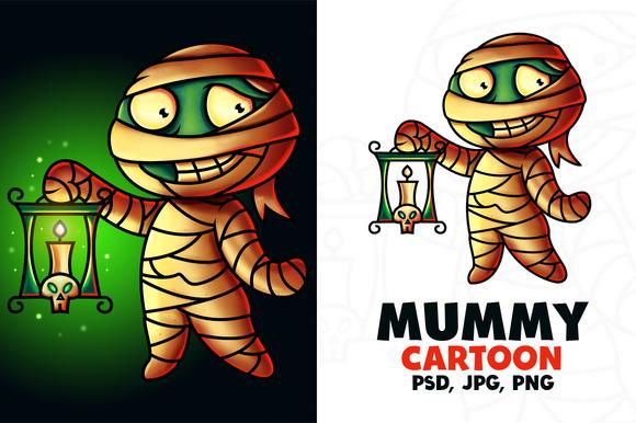 Mummy Cartoon Character