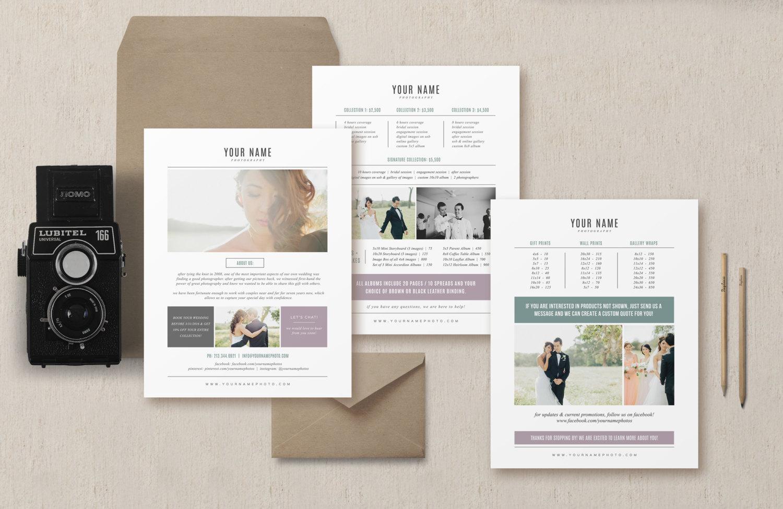 sale venice pricing guide set brochure templates on