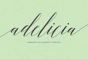 Adelicia Script (50% Off)