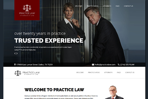 Practice Law WP Attorney Theme