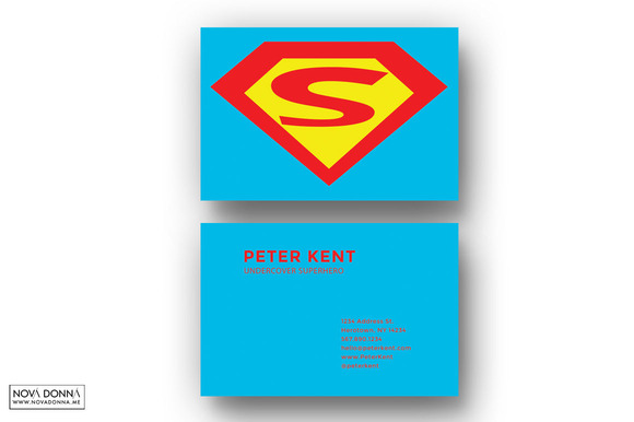 Superhero business card templates business card for Superhero business cards