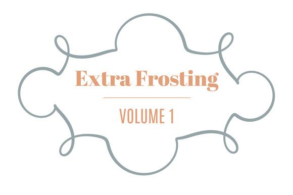 Extra Frosting Vol 1 20 Ornaments