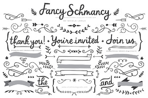 Fancy Schmancy (Clipart)