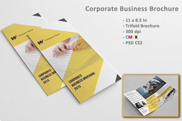 8 5 x 11 brochure template indesign - corporate brochure indesign sistec