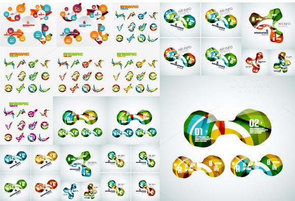 Jumbo Set Of Modern Infographics