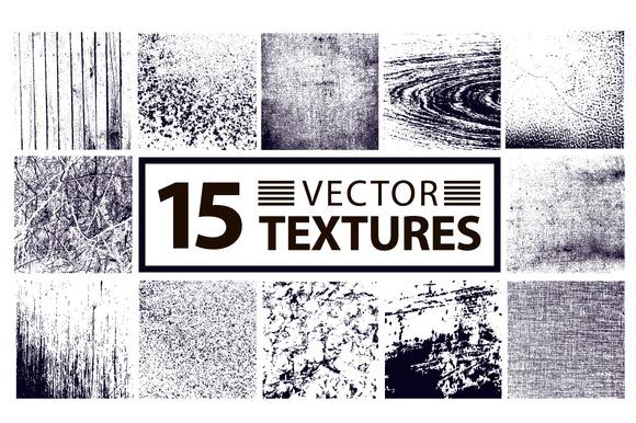 15 VECTOR TEXTURES BUNDLE