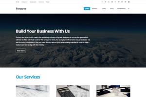 Fortune - WordPress Theme