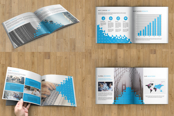 Corporate Brochure -InDesign