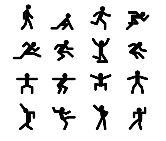Human Action Poses