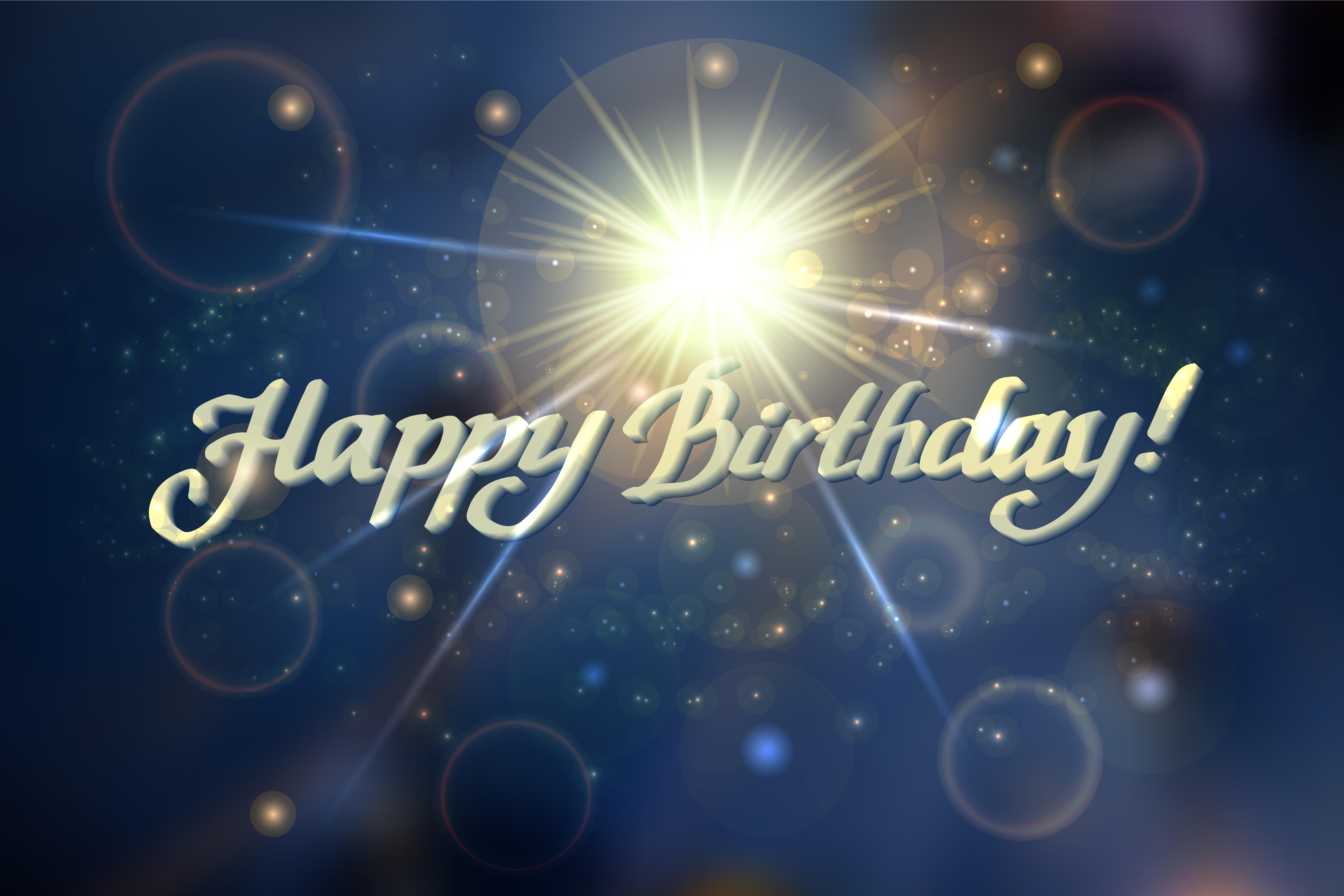 №33 Greeting Card Happy Birthday