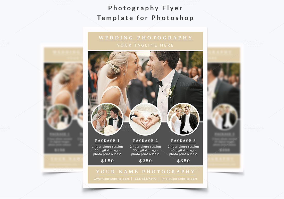 How To Advertise Your Wedding Photography Business: Flyer Templates On Creative
