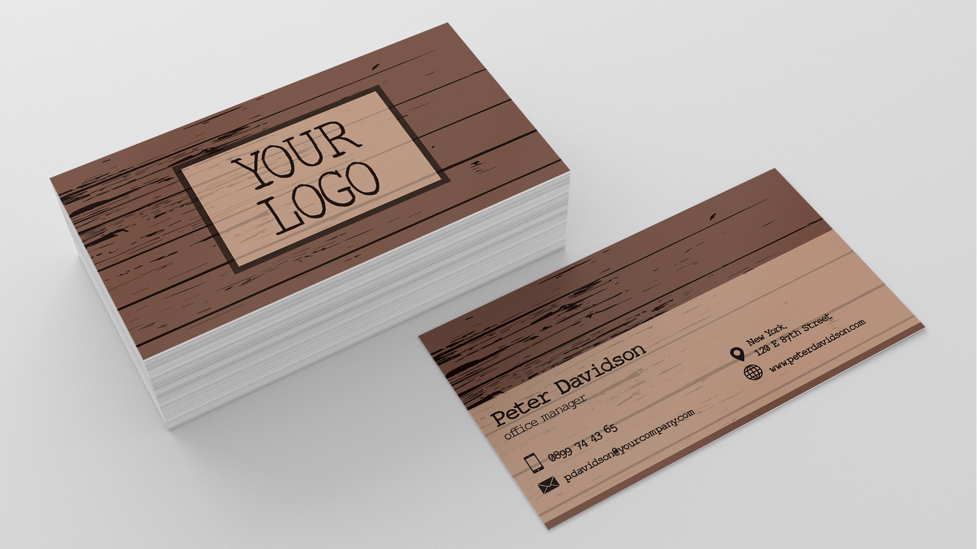 unique stock of wood business cards business cards