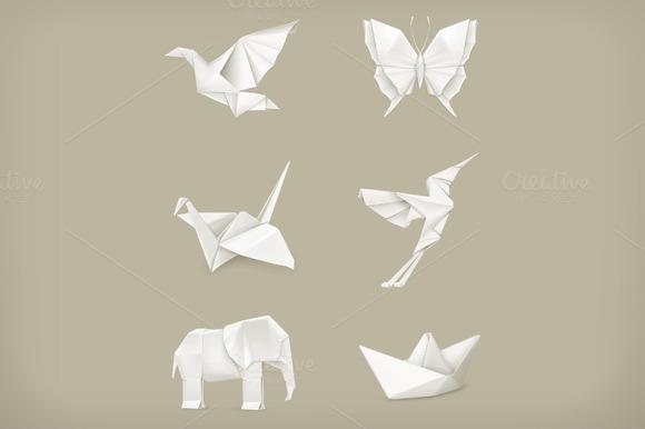 Origami Animals Icons