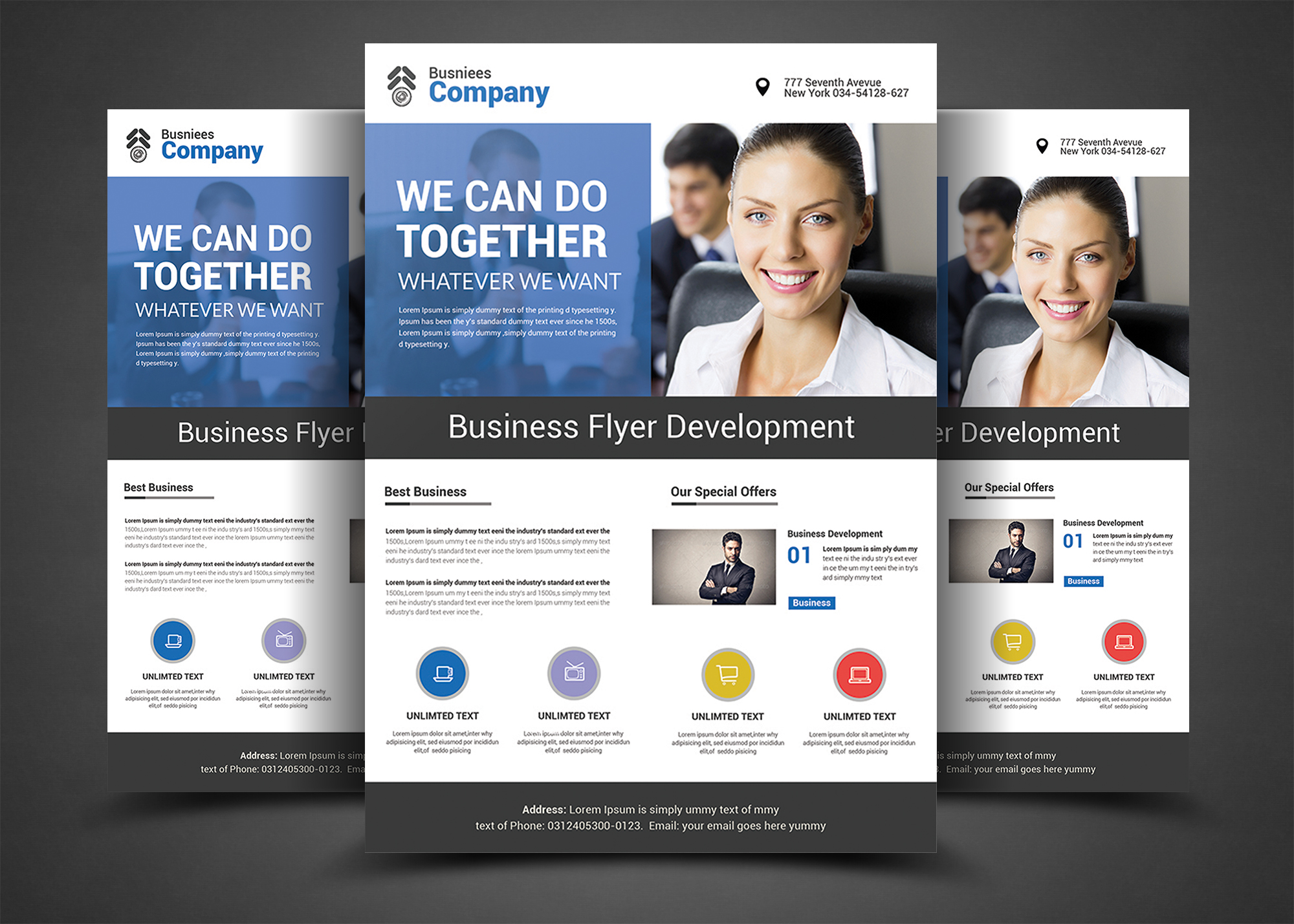 new business flyer