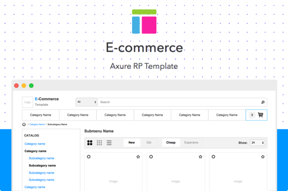 e commerce sites templates - axure template e commerce website templates on