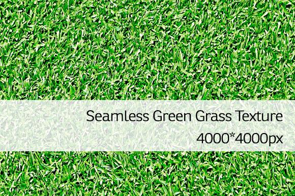 Seamless Green Grass Texture 1