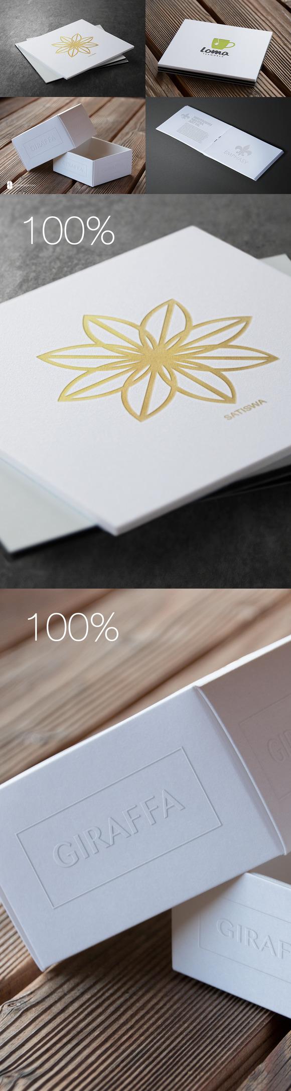 Authentic Logo Mix Mockups Vol. 01 - Product Mockups