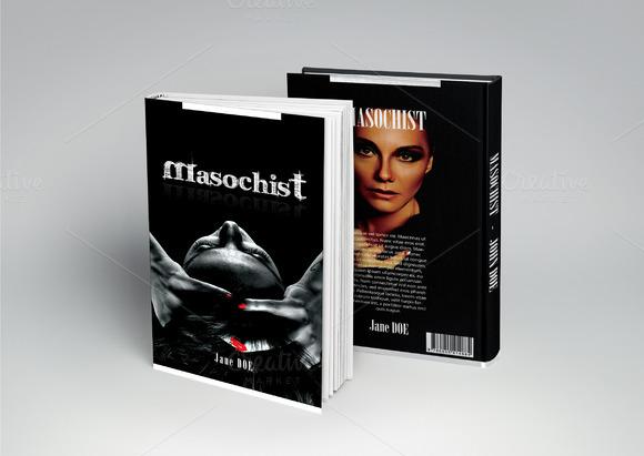 Masochist Book Cover PSD