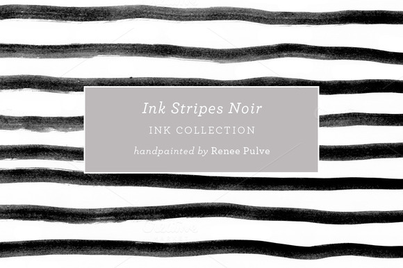 Ink Stripes Noir