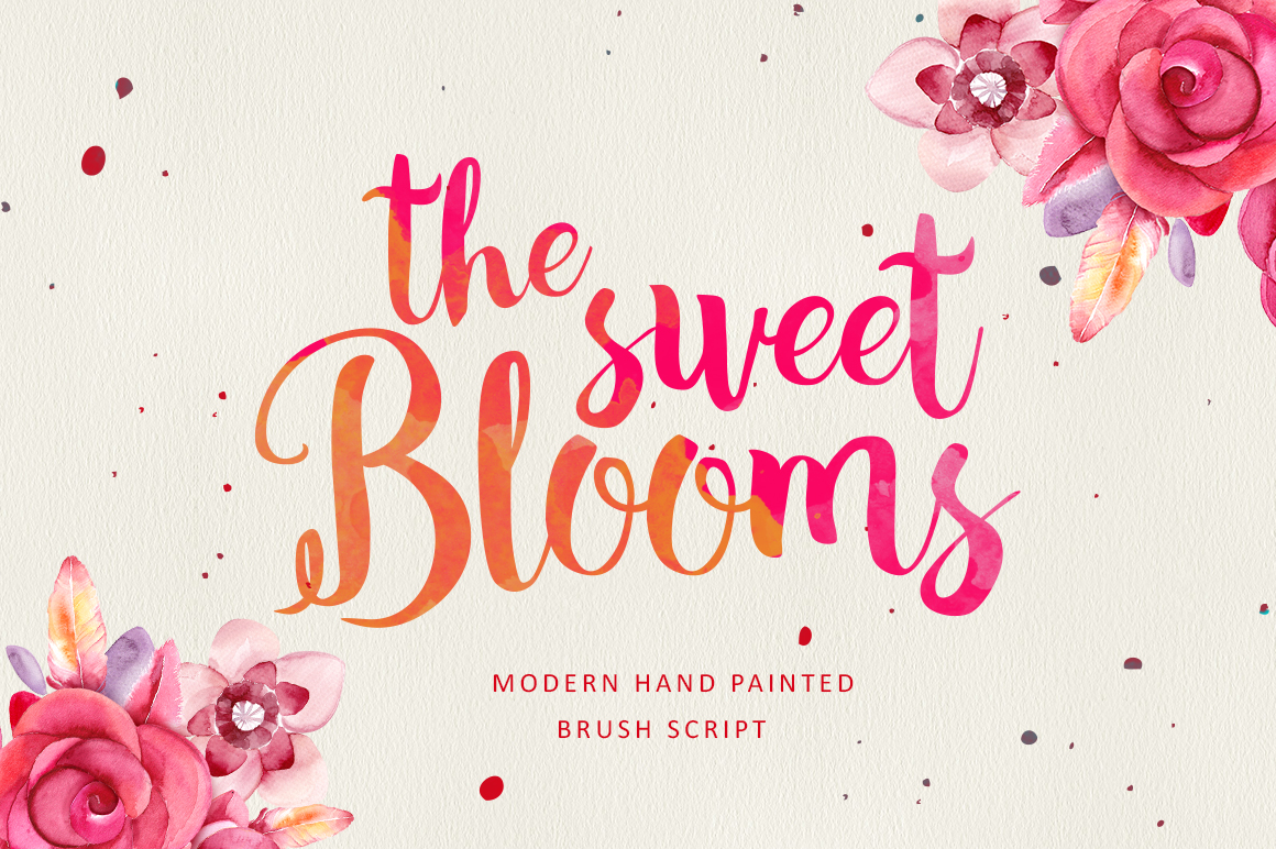 the sweet blooms  25  off