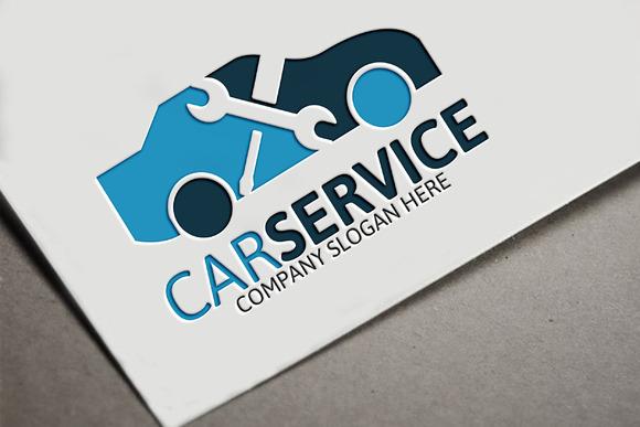 car service logo logo templates on creative market