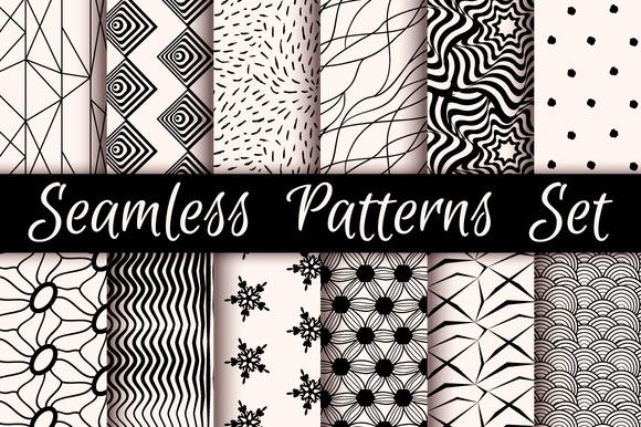12 Incredible Seamless Patterns V.01 - Patterns