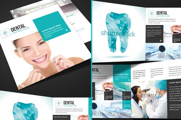 dental brochure templates - dental square trifold brochure brochure templates on