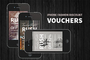 iPhone Fashion Discount Vou-Graphicriver中文最全的素材分享平台