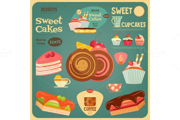 Sweet Cakes Card