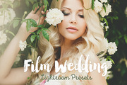 Film Wedding Lightroom Pres-Graphicriver中文最全的素材分享平台