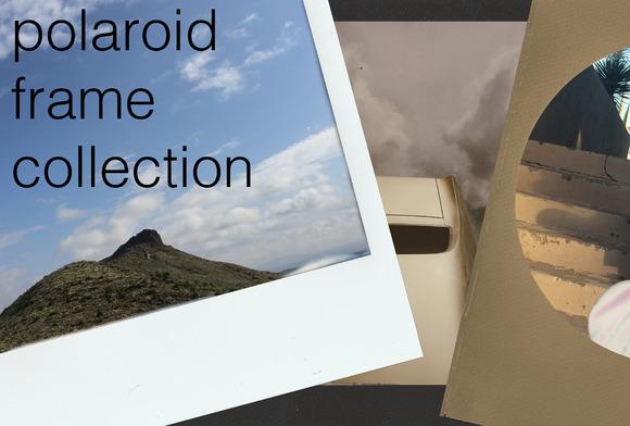 Real Polaroid Frames Bundle