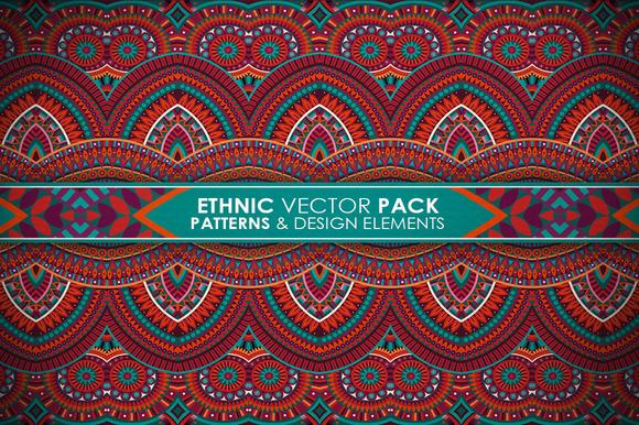 Ethnic Vector Pack