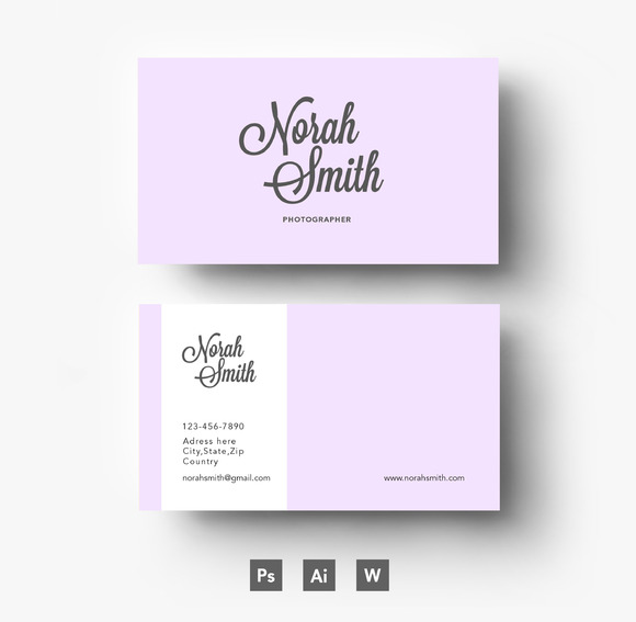 purple business card template business card templates on