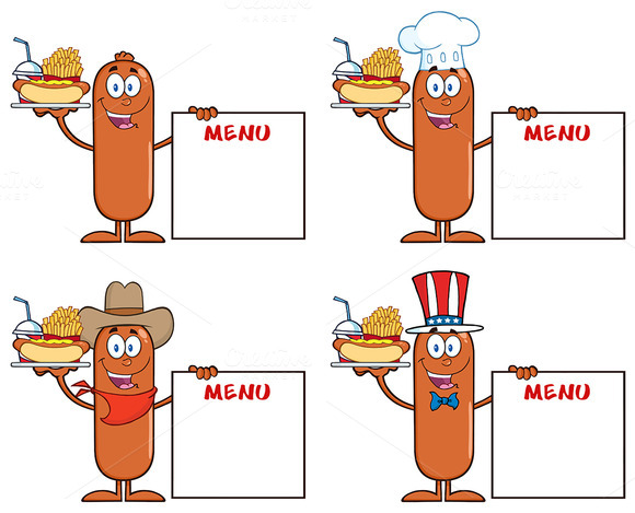 Sausage Character Collection 7
