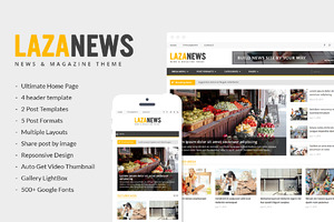 LazaNews | News, Magazine, Newspaper