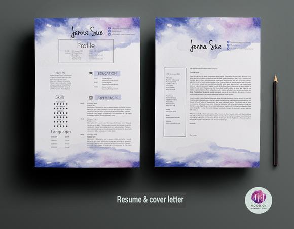 creative cv template  resume templates on creative marketcreative cv template   resumes