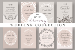 The Dreamy Wedding Collection
