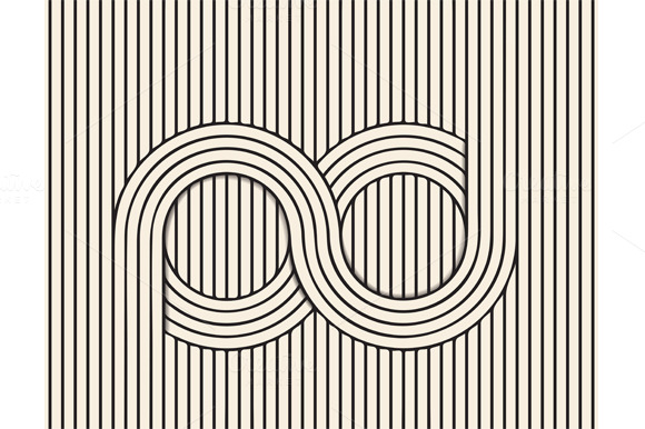 Line Art Illusion : Visual illusion line art illustrations on creative market