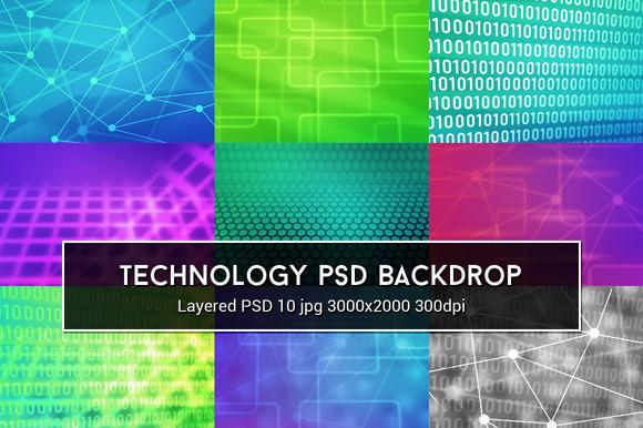 Technology PSD Background