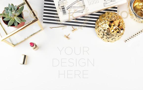 Hero Website Product Mockup