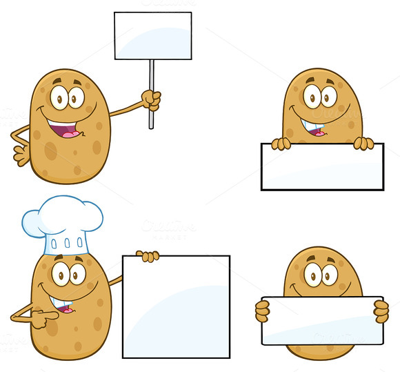 Potato Character Collection 3