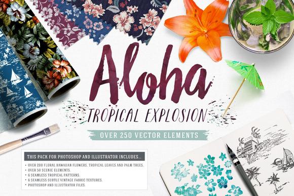 Aloha Tropical Explosion Collection