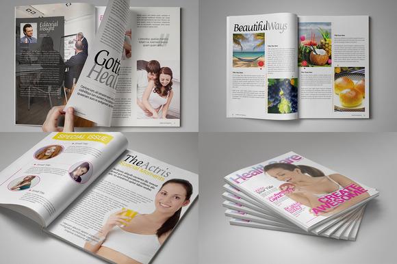 Health Care Magazine Template - Magazines - 2