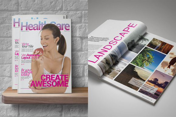 Health Care Magazine Template - Magazines - 4