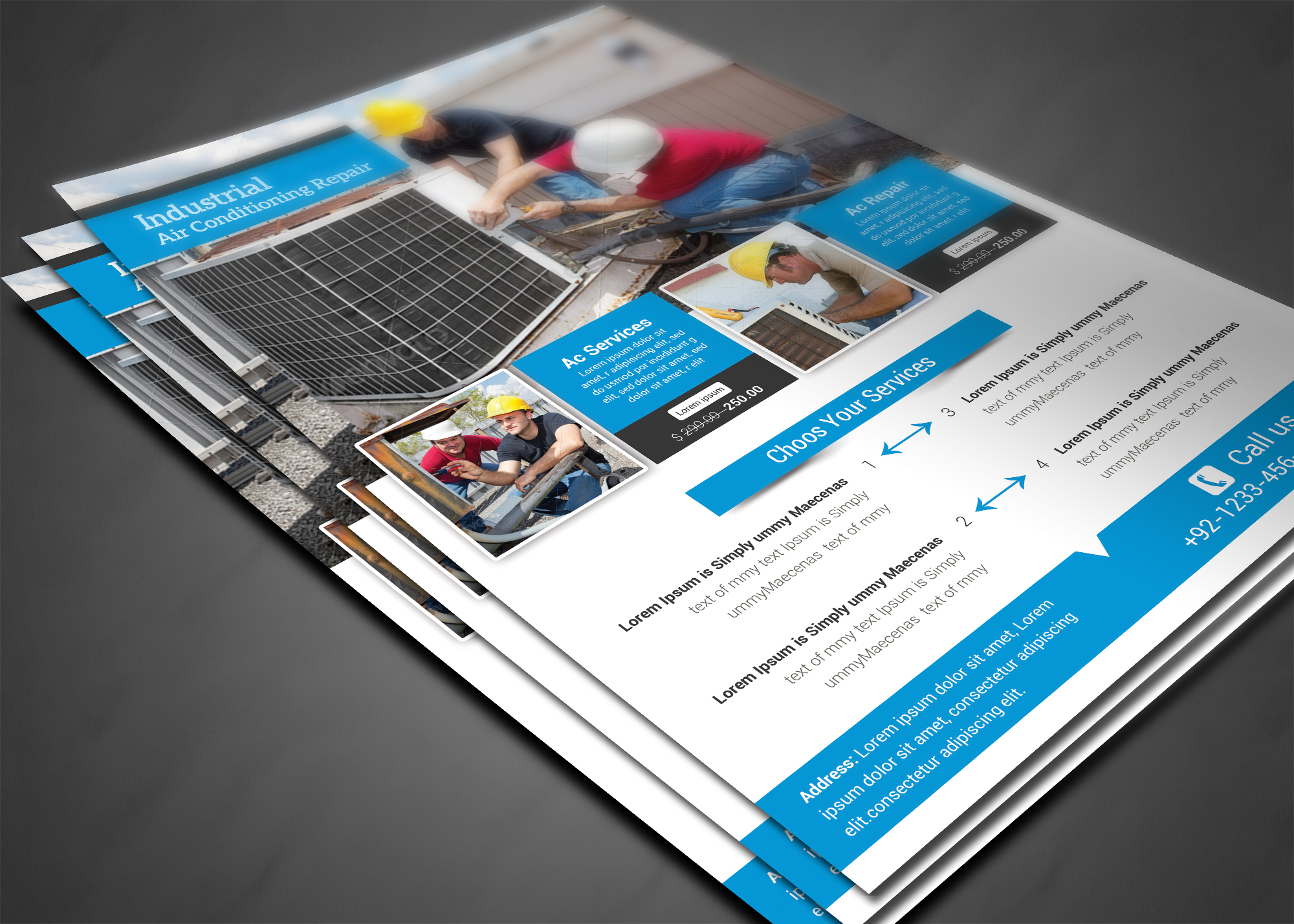 Air Conditioning Tools >> Air Conditioning Repair Flyer ~ Flyer Templates on ...