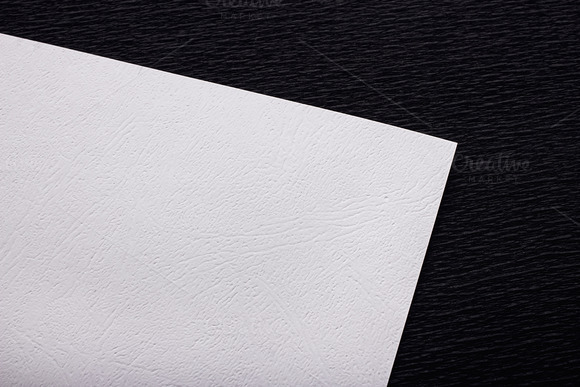 Mockup. White paper. - Product Mockups