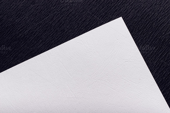 Mockup. The white paper. - Product Mockups